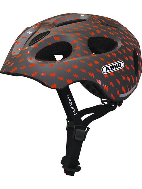 ABUS Youn-I Helmet Kids grey lightning